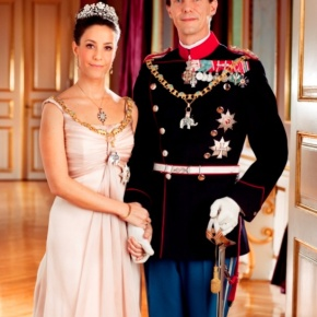 TRHs Prince Joachim and Princess Marie of Denmark Pose for the Press in Switzerland.