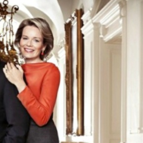 TRHs Prince Philippe and Princess Mathilde of Belgium in Switzerland.