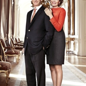 Their Majesties King Philippe and Queen Mathilde of Belgium Enjoy a Night at the Opera.