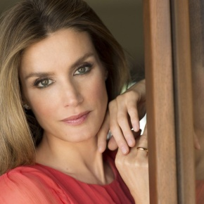 Her Royal Highness Princess Letizia of Asturias in Geneva.