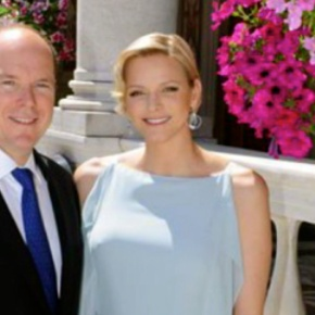 TSHs Prince Albert II and Princess Charlene of Monaco Attend a Charity Concert. (VIDEO)