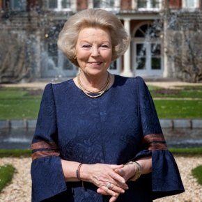 Her Royal Highness Princess Beatrix of the Netherlands Attends the 9th Meeting of In Vrijheid Verbonde.