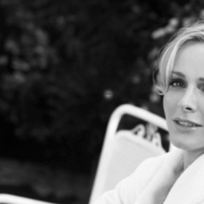 Her Serene Highness Princess Charlene of Monaco in Capbreton, France. (VIDEO)