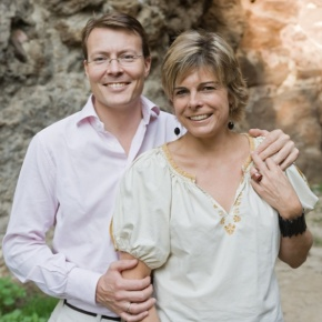 Their Royal Highnesses Prince Constantijn and Princess Laurentien of the Netherlands Volunteer at the MuseumGevangenpoort.