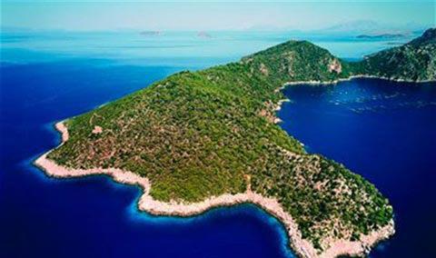 Oxia Island Greece