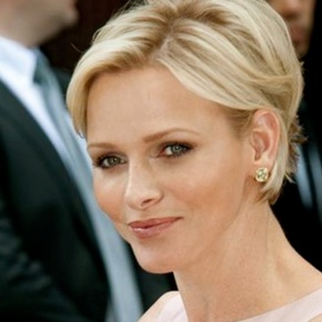 Her Serene Highness Princess Charlene of Monaco Visits Lenval Hospital.