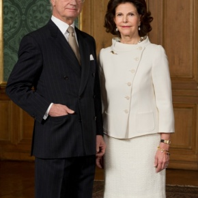 TMs King Carl XVI Gustaf and Queen Silvia of Sweden Visit Gävleborg County. (VIDEOS)