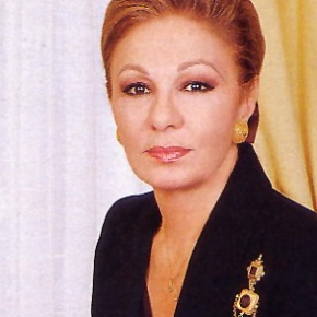 Her Imperial Majesty Shahbanou Farah Pahlavi, Empress of Iran, Attends the 4th Edition of Salon Art Monaco.(VIDEO)