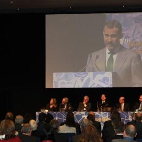 His Royal Highness Prince Felipe of Asturias Presides Over the 7th European Jurist Forum.(VIDEO)