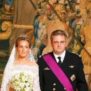 TRHs Prince Laurent and Princess Claire of Belgium: Celebrating 10 Happy Years of Marriage. (VIDEOS)