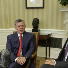 His Majesty King Abdullah II of Jordan Meets With President Barack Obama. (VIDEOS)