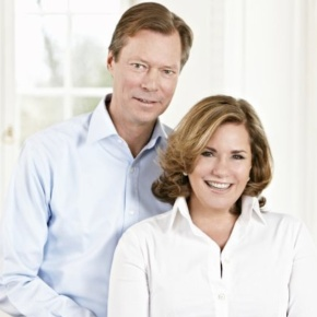 TRHs Grand Duke Henri and Grand Duchess Maria Teresa of Luxembourg Attend the Opening of the 2013 SpringFair.