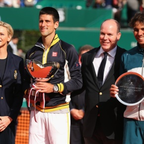 Their Serene Highness Prince Albert II and Princess Charlene of Monaco Attend the ATP Monte-Carlo Rolex Tennis Masters Tournament. Plus, Other News. (VIDEO)