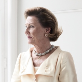 Her Majesty Queen Sonja of Norway Opens a Special Exhibition in New York City.
