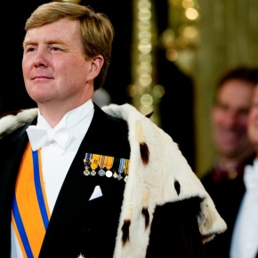 HM King Willem-Alexander of the Netherlands Receives Credentials.