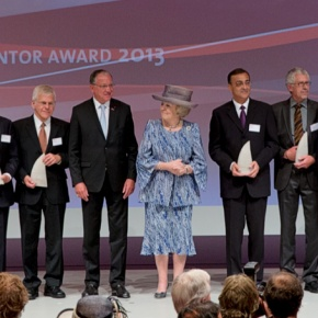 HRH Princess Beatrix of the Netherlands Attends the 2013 European Inventor Awards. (VIDEO)