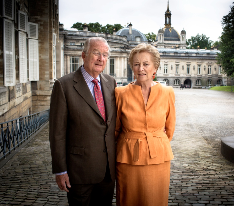 TMs King Albert II and Queen Paola of Belgium Attend the ...