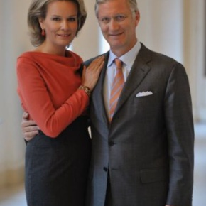 Their Majesties King Philippe and Queen Mathilde of Belgium Attend the Session, The Millennial Challenge, at the WEF. (VIDEO)