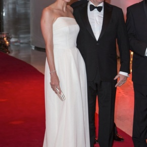 TSHs Prince Albert II and Princess Charlene of Monaco Enjoy a Glamourous Gala Evening at the Sporting Monte-Carlo.
