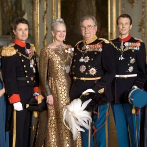 Members of the Danish Royal Family Enjoy a Gala Concert at Fredensborg Slotskirke.