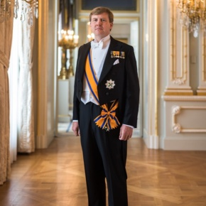 HM King Willem-Alexander of the Netherlands Attends the 100th Anniversary Celebrations of the Vredespaleis. (VIDEO)
