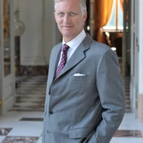 HM King Philippe of Belgium Attends the Young Talent in Action Forum.