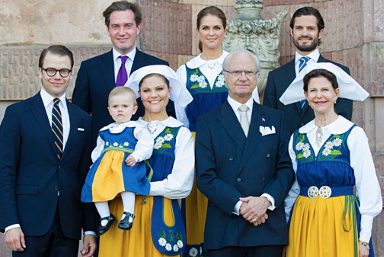Members Of The Swedish Royal Family Celebrate National Day