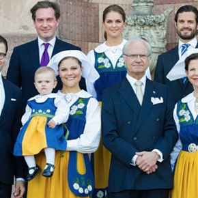 Members of the Swedish Royal Family Celebrate National Day.(VIDEO)