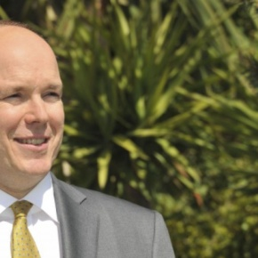 HSH Prince Albert II of Monaco Attends an Inauguration.(VIDEO)