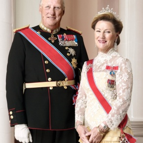 Members of the Norwegian Royal Family Attend Christmas Service in Oslo.