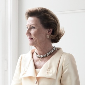 HM Queen Sonja of Norway Attends a Special Mass in Oslo.