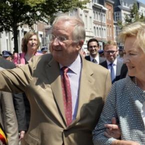 Their Majesties King Albert II and Queen Paola of Belgium Visit Eupen.(VIDEOS)