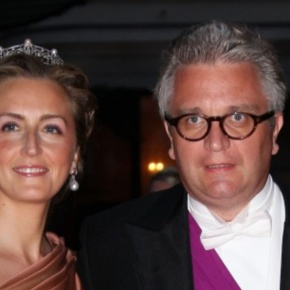 TRHs Prince Laurent and Princess Claire of Belgium Visit Résidence Paloke.