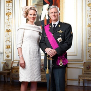 Their Majesties King Philippe and Queen Mathilde of Belgium Visit Rome, Italy. (VIDEOS)