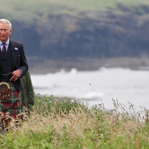 His Royal Highness The Duke of Rothesay Visits Tain, Scotland.