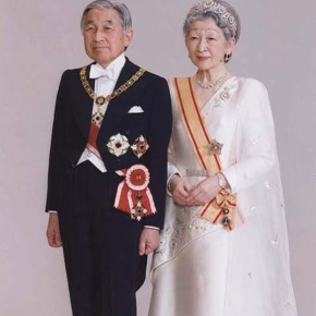 Their Imperial Majesties Emperor Akihito and Empress Michiko of Japan View an Exhibition in Tokyo. (VIDEOS)
