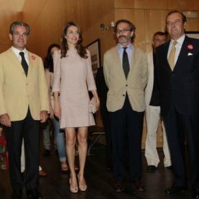 Her Royal Highness Princess Letizia of Asturias Presides Over the 10th Edition of the Premios Buero de TeatroJoven.