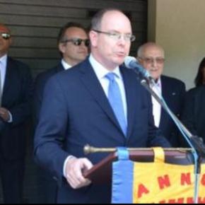 HSH Prince Albert II of Monaco Inaugurates Maison d'Amélie.(VIDEO)