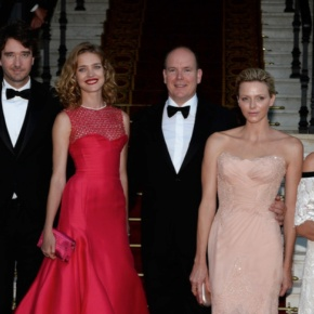 Prince Albert II and Princess Charlene of Monaco Attend the 4th Edition of The Love Ball. (VIDEO)