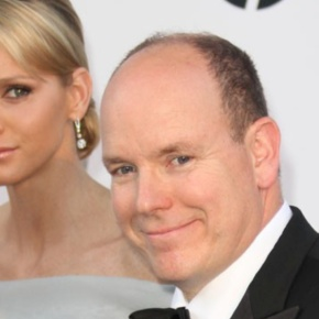 TSHs Prince Albert II and Princess Charlene of Monaco Attend a Boxing Match.