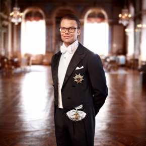His Royal Highness Prince Daniel of Sweden Goes to Russia.