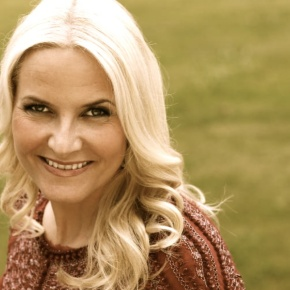 HRH Crown Princess Mette-Marit of Norway Opens the 8thØkofestivalen.