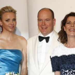 Prince Albert II and Princess Charlene of Monaco Attend the 65th Gala de la Croix-Rouge Monégasque.