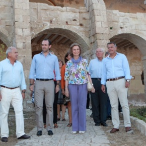 Her Majesty Queen Sofia of Spain Participates in the  V Foro Menorca Illa del Rei.
