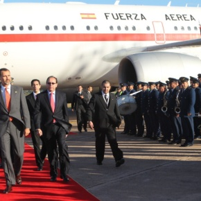 His Royal Highness Prince Felipe of Asturias Visits Paraguay. (VIDEOS)