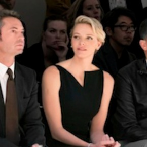 HSH Princess Charlene of Monaco Attends the Akris S/S 2014 Fashion Show. (VIDEO)