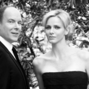 Prince Albert II and Princess Charlene of Monaco Visit Sainte-Agnès, France. (VIDEO)