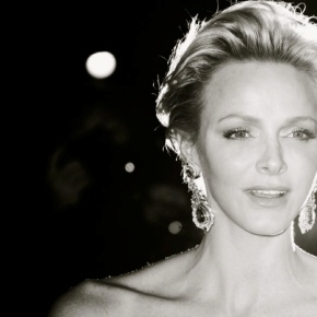 Her Serene Highness Princess Charlene of Monaco in Paris… Again.