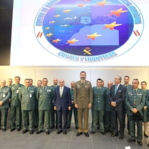 His Royal Highness Prince Felipe of Asturias Inaugurates the Centro de Coordinación de Vigilancia Marítima de Costas yFronteras.