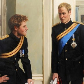 Their Royal Highnesses The Duke of Cambridge and Prince Harry of Wales Host a Reception at Buckingham Palace. (VIDEO)